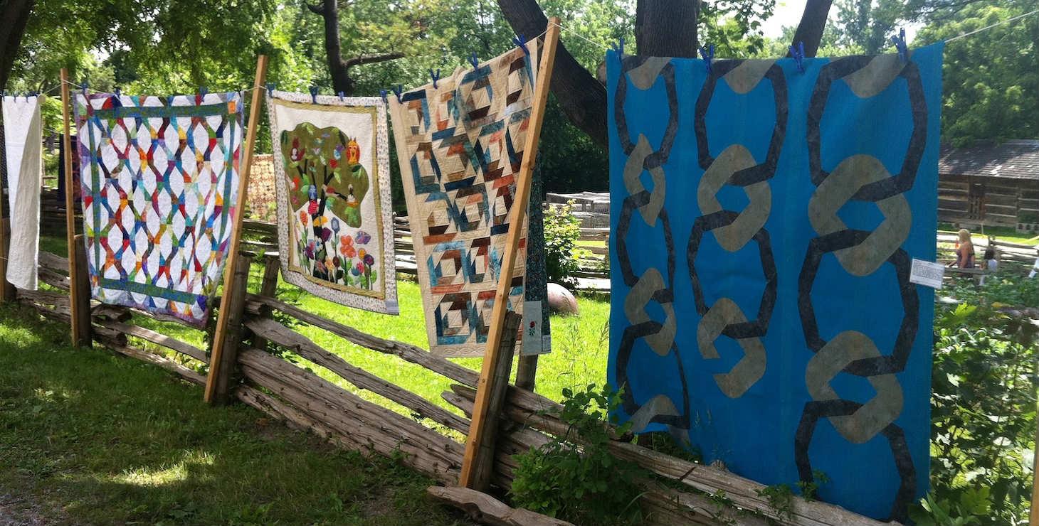 Quilts at Arts and Crafts Fair