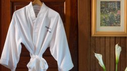 Worthington Room robe at our Magnolia Springs B&B