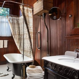 McLennan Room bathroom at our Fairhope, AL B&B