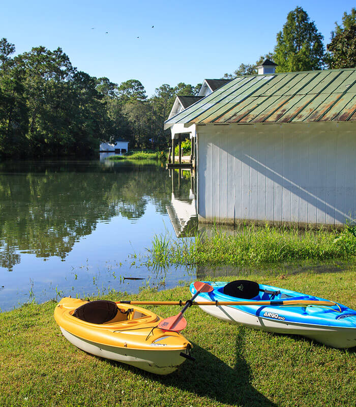 Kayaking in Magnolia Springs, AL