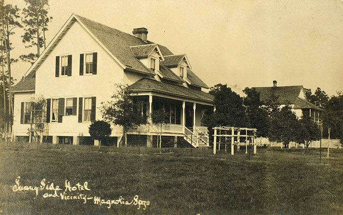 Old picture of Magnolia Springs Bed and Breakfast