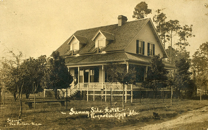 Old photo of Magnolia Springs Bed and Breakfast