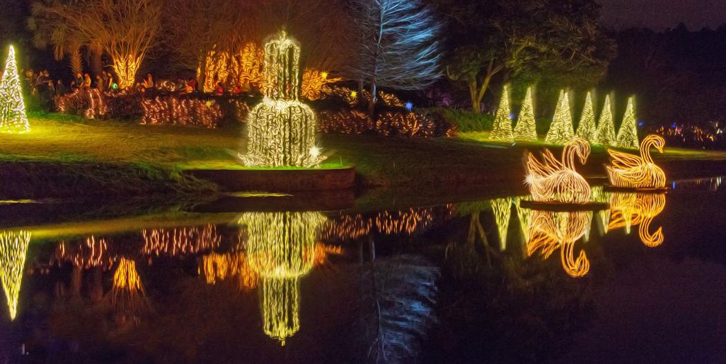 Bellingrath Gardens at Christmastime