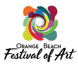 Orange Beach Festival of Art logo