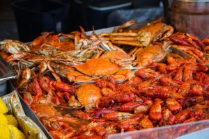 Seafood at the National Shrimp Festival