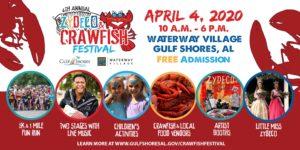 Music & Crawfish Festival & 5K Run poster